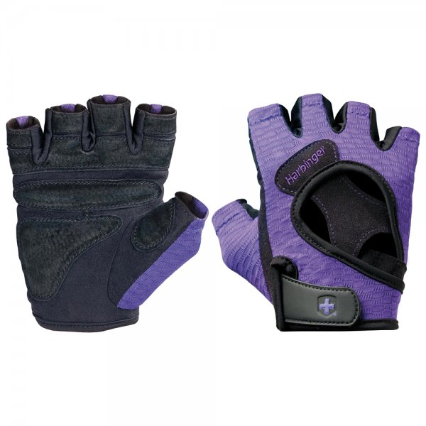 Harbinger Women's FlexFit Large (Black / Purple)
