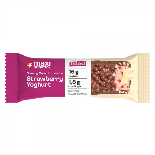 MaxiNutrition® Filled Protein Bar Strawberry Cupcake